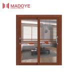 De estilo chino puertas corredizas de vidrio de alta calidad para Comedor