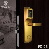 PVD che ricopre la serratura sicura della maniglia di portello dell'hotel elettronico in lega di zinco