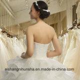 fuori dai vestiti da cerimonia nuziale integrali eleganti nuziali del vestito convenzionale dalla spalla