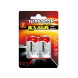 pile sèche de batterie de 1.5V Digitals avec 7 ans de durée de conservation pour la lampe-éclair de photo (LR20-D AM-1)