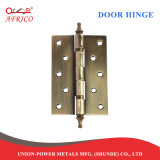 鋼鉄ハードウェア重い出入口のヒンジ(180度のヒンジ)のための4インチのバットドアヒンジ