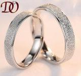 El par al por mayor de la alta calidad suena el anillo de dedo de 925 de la plata esterlina pares del anillo