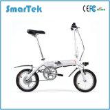 Scooter se pliant de bicyclette d'Ebike de mobilité de bicyclette de Smartek de poussée de mode électrique électrique élégante de bicyclette pour des jeunes gens de S-013-1