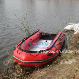 Liya 2m-6.5mの川船のFoldable膨脹可能なポンツーンのボート