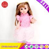 Длинные волосы мода девочек игрушек дети продукты пластмассовые кукла