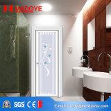 Puerta de aluminio del cuarto de baño con la doble vidriera