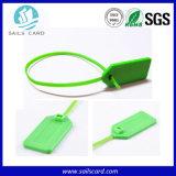 Wholesales 320X26mm 13.56MHz RFID die Dichtungs-Marke für Gepäck-Management