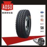7.50R16 neumático radial, todos los neumáticos para camiones de acero con ancho de vía única formulación de compuestos