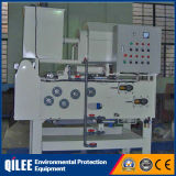 Máquina automática de la prensa de filtro de la correa de la buena calidad para las aguas residuales de cuero