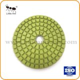 "Stone 3 "" /80mm를 위한 기계설비 Tools Abrasive Disk Grinding Plate Diamond Wet Polishing Pad"