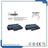 Base di sofà convertibile all'ingrosso della traversina del tessuto di Loveseat