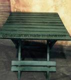 Складной стол из дерева Vintage Tsolid древесины таблица квадратных таблицы по контракту из дерева в саду небольшой стол (M-X3223)