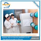 Transportador de correia de aço inoxidável para o transporte de materiais médicos