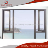Perfil de aluminio de alta calidad Double-Glass Casement Window