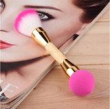 Dobles de fin de fusión de doble cabeza Maquillaje Pincel Blush