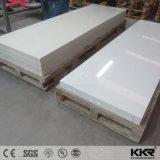 O mármore do material de construção gosta da folha de superfície contínua acrílica do teste padrão da veia