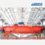 Modelo qd 60 toneladas el doble techo viga puente grúa