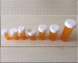 Da criança reversível do tampão do impulso e da volta frasco resistente preto da prescrição