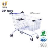 Ue70d 70L Europa Style Carrinho de Compras de supermercado de Aço