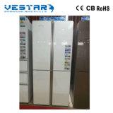 mini réfrigérateur 166L avec le traitement enfoncé et le réfrigérateur blanc de couleur