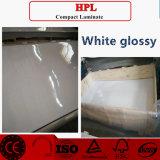 Strati laminati lucidi bianchi di HPL