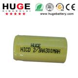 batterie 2/3AA (NiCd) de 1.2V NiCd