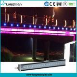 옥외 방수 12W RGB LED 선형 가벼운 벽 세탁기
