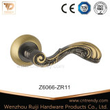 Antique Arm Color Feather Tail Interior Wooden Door Handle (Z6044-ZR05)