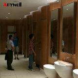 Amywell 12мм компактный ламината HPL панели изменение номера туалет шкаф управления разделами