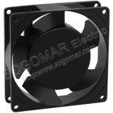 Buena calidad de 110V 220V 380V tipo Leadwire 92*92*25mm que irradia el ventilador para refrigerar