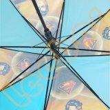 Маленький мальчик детский датчик дождя и освещенности Poe прозрачные зонтики