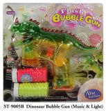 Verano caliente Dinoaur nuevo juguete pistola de burbujas