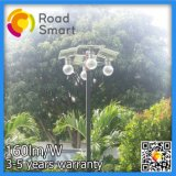 8W Jardin LED solaire rue Wall Lamp