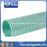 Boyau spiralé flexible d'aspiration de PVC de 4 pouces