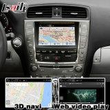 Lexus Is250 Is350の任意選択2005-2009ビデオインターフェイス後部のための人間の特徴をもつ運行ボックスおよび360パノラマ