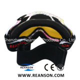 Professional Anti-Fog antireflet lentilles des lunettes de ski en miroir