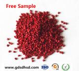 Rode Kleur Masterbatch voor het Communicatie Plastic Materiaal van de Buis