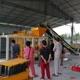 ミキサーおよびスタック・マシンが付いているブロックの生産ラインホスト・マシン