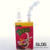 Waterpijp van het Glas van de Doos Hitman van Gldg de Hete Verkopende Kleine voor het Roken