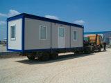 Televisão Pack Construções prefabricadas Recipiente Modular House para escritório, quarto, sala