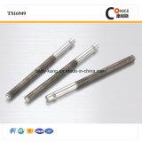 Gebildet in China CNC-maschinell bearbeitenpräzisions-Zahntrieb-Welle