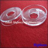 Tino triangolare libero di vetro di quarzo del silicone di alta qualità