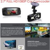 """2016 Venta de 2,7"""" Negro Caja de coches FHD1080p rociada DVR coche con la cámara 3.0Mega Aptina Ar0330car, Ntk96650 coche Digital Video Seamless Loop Recorder, WDR, control de aparcamiento"""