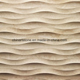 Die Türkei-weiße Kalkstein-Platte für Wasserstrahlfliesen