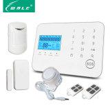 Multifunctioneel Draadloos GSM van de Veiligheid van het Huis Alarm met het Toetsenbord van de Aanraking