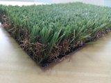 Césped sintetizado del sintético de la hierba de la hierba del césped artificial del paisaje