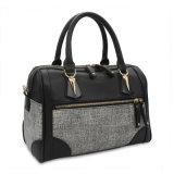 Pu met Prijs de Van uitstekende kwaliteit van de Handtas van het Canvas Goedkope Dame Handbag