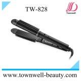 Cabelo cerâmico profissional que endireita o cabelo do equipamento do salão de beleza do Straightener da escova e do cabelo que cura o ferro com pente