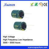 350V Hoge Frequentie van uitstekende kwaliteit van de Condensator van 3.3UF de Elektrolytische