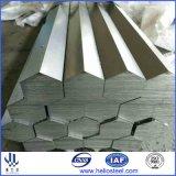 Barre en acier d'hexagone étiré à froid de S45c